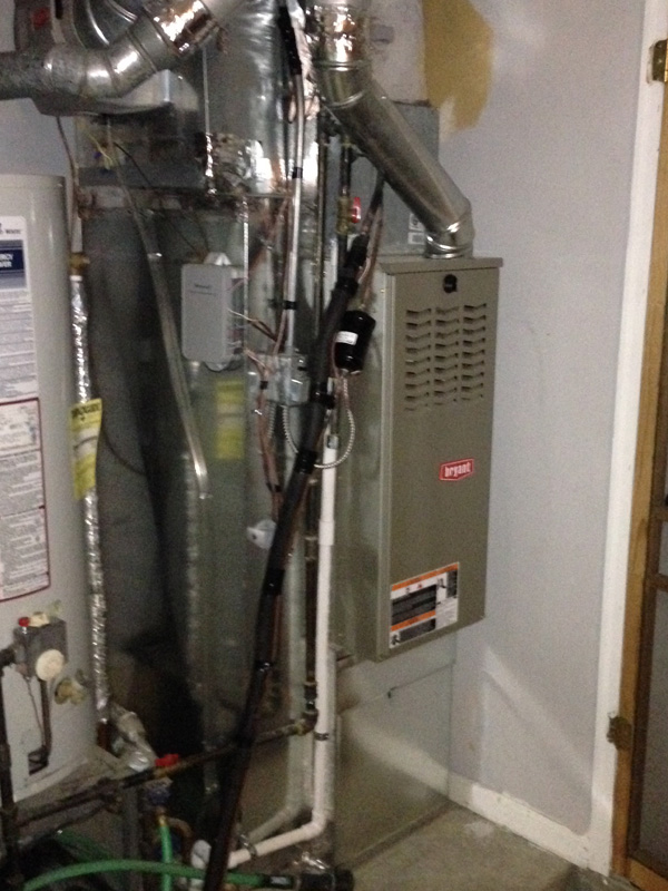 Bryant Furnace Installation – After